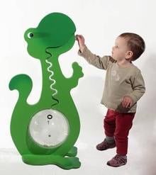 36 Inch Tall Green Dinosaur
