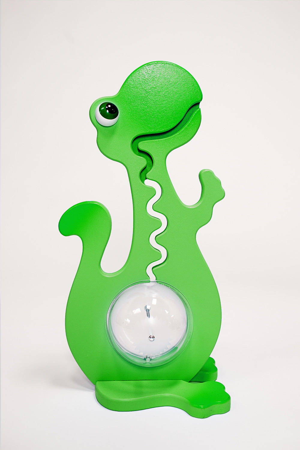 20 inch tall Green Dinosaur