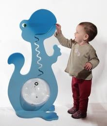 36 Inch Tall Blue Dinosaur
