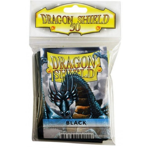 Dragon Shield - 50ct Standard Size - Black