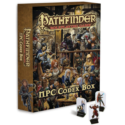 Pathfinder Roleplaying Game: NPC Codex Box (Pathfinder Pawns)