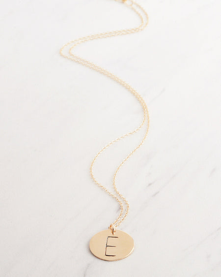 Abstract in Gold Necklace