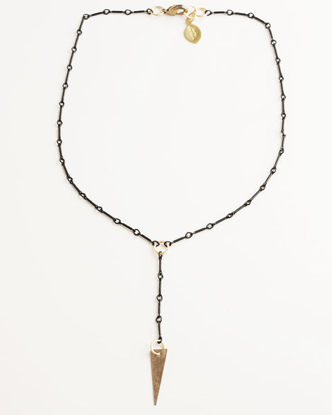 Scorpio Black Necklace