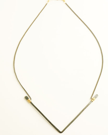 Bond Silver Necklace