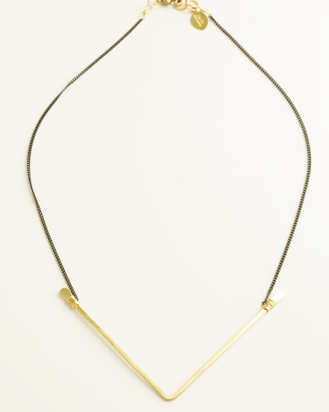 Ives Gold Necklace