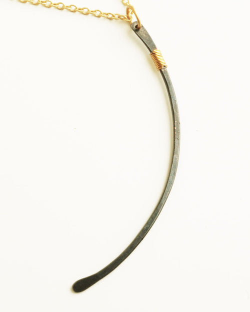 Rute Gold Black Necklace