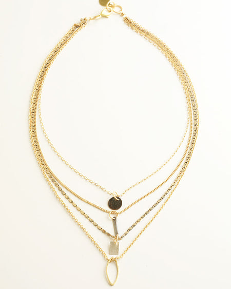 Dragonfly Gold Necklace