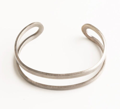 Nova Antique Silver Cuff