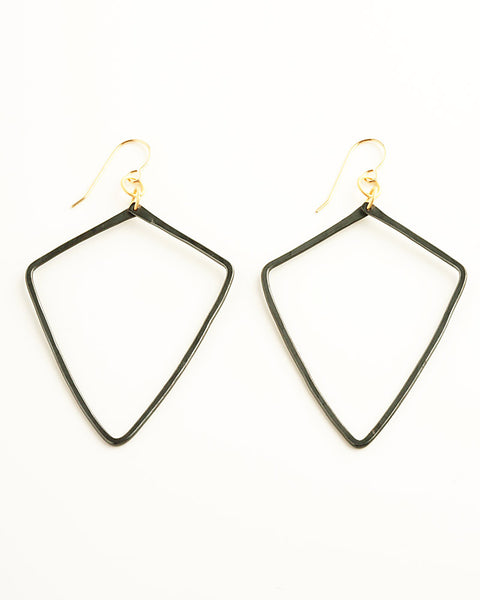 Quadri Black Earrings