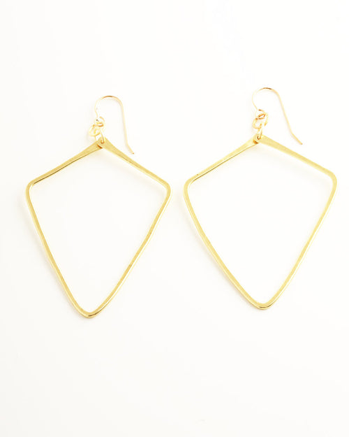 Quadri Gold Earrings