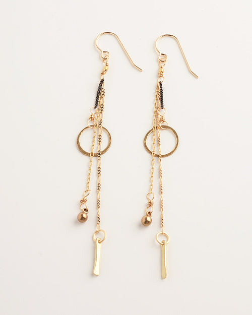 Campanella Gold Earrings