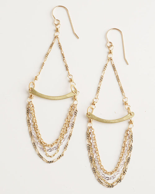 Shanda Gold Earrings