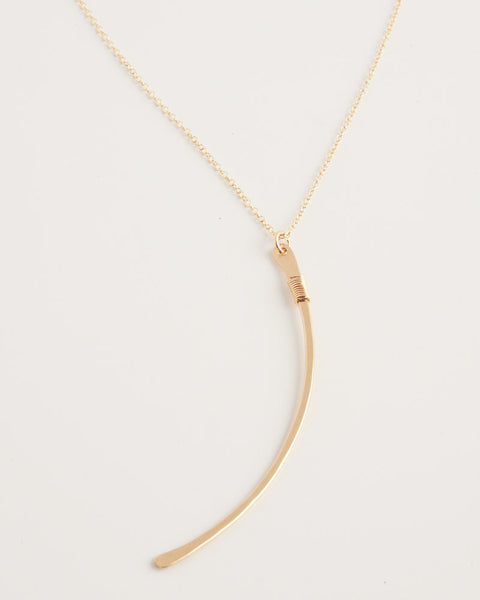 Ellipse Gold Necklace
