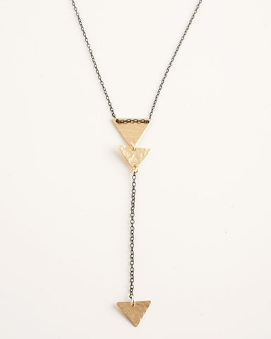 Mini Triangles Lariat Mixed