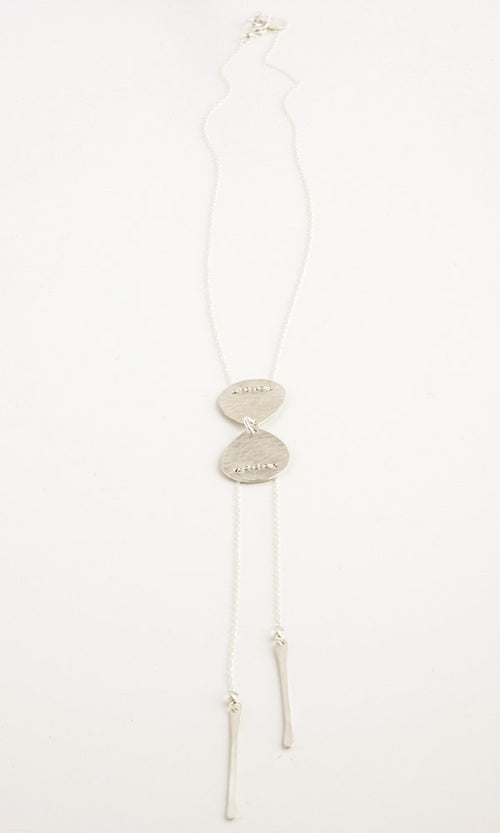 Tear Silver Necklace