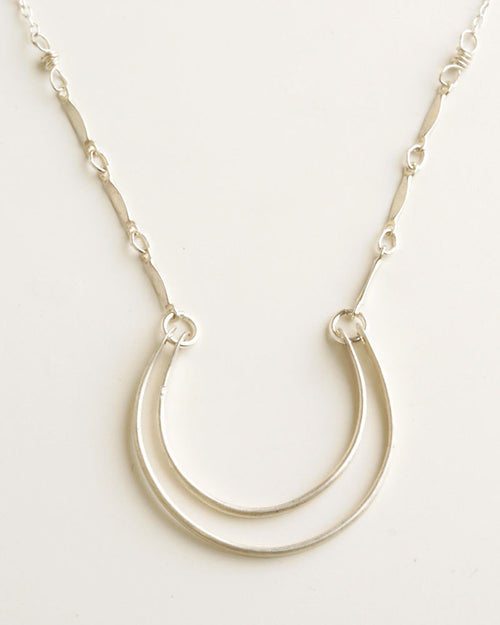 Dublin Silver Necklace