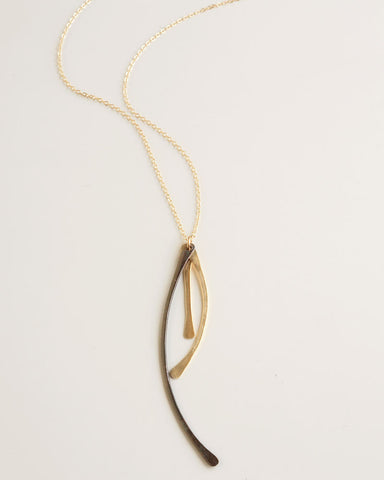 Any Path Gold Necklace