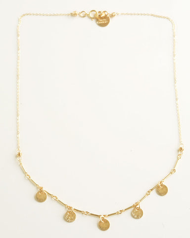 Dots Gold necklace