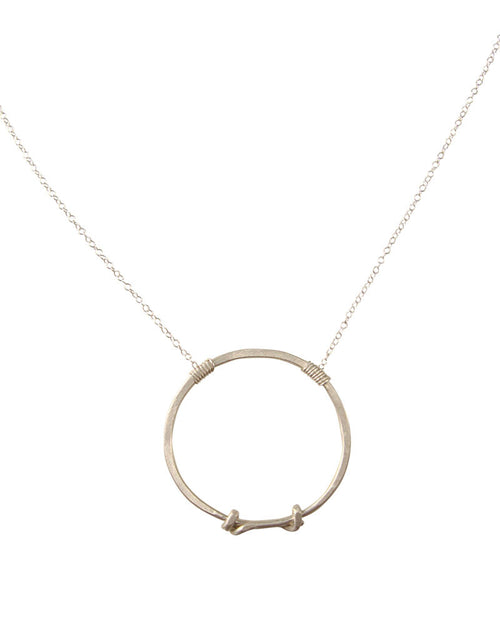 Truly Silver Necklace