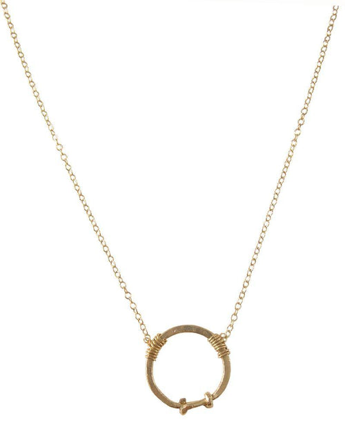 Journey Gold Necklace