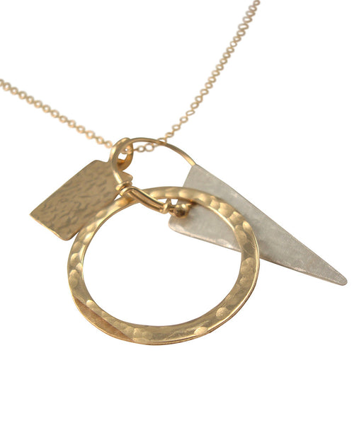 Geometry Gold Necklace