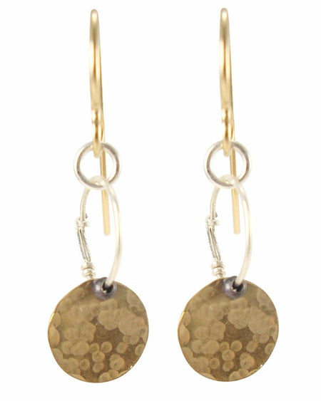 Penny Silver Earrings