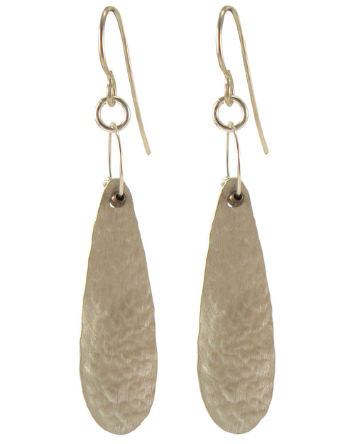Cicada Silver Earrings