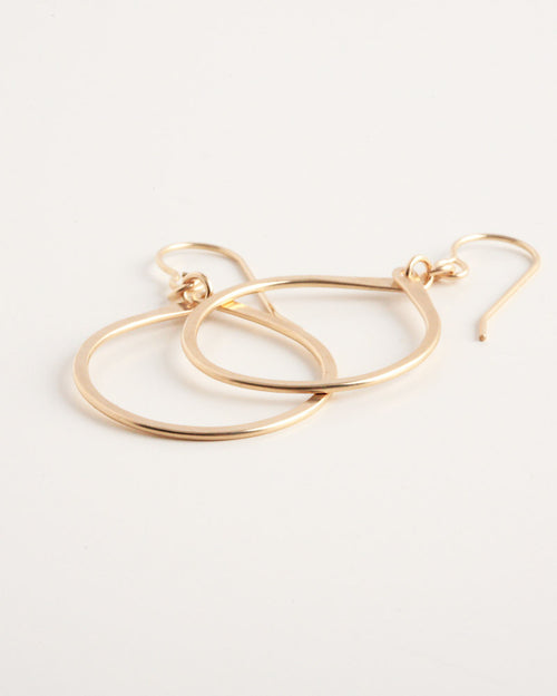 Droplet Gold Earrings