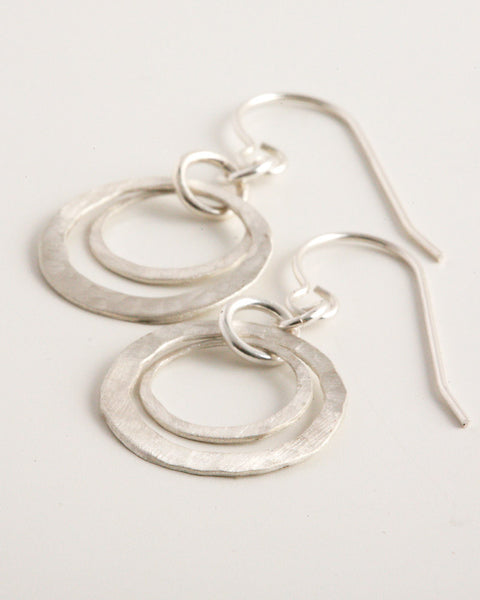 Destination Silver Earrings