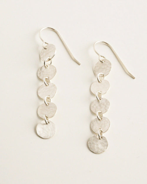 Poppy Silver Earrings