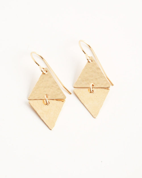 Devotion Gold Earrings