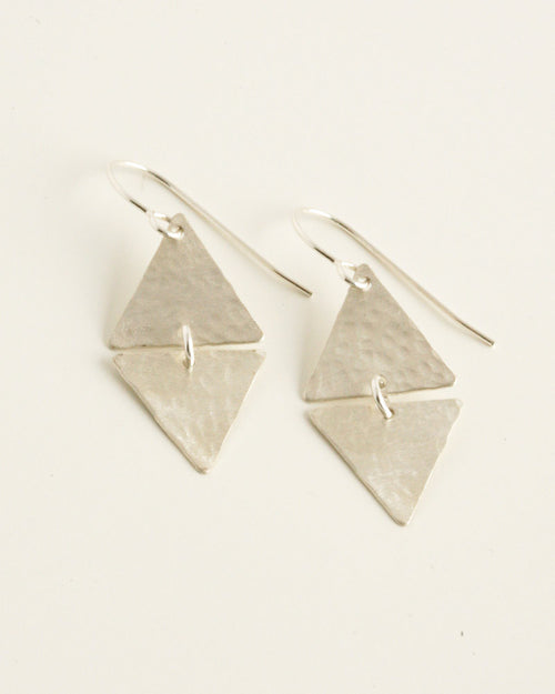 Devotion Silver Earrings