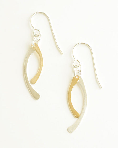 Sunset Gold Earrings