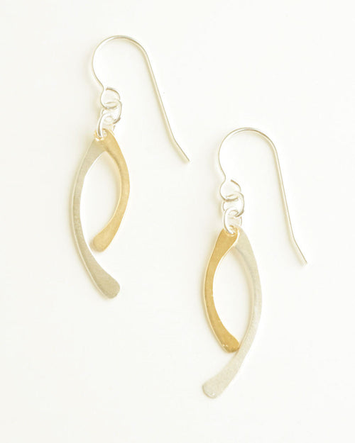 Any Path Silver Earrings