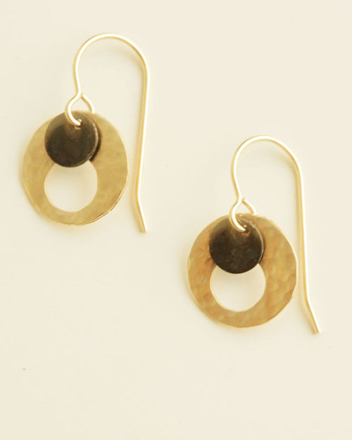 Eye Gold Earrings