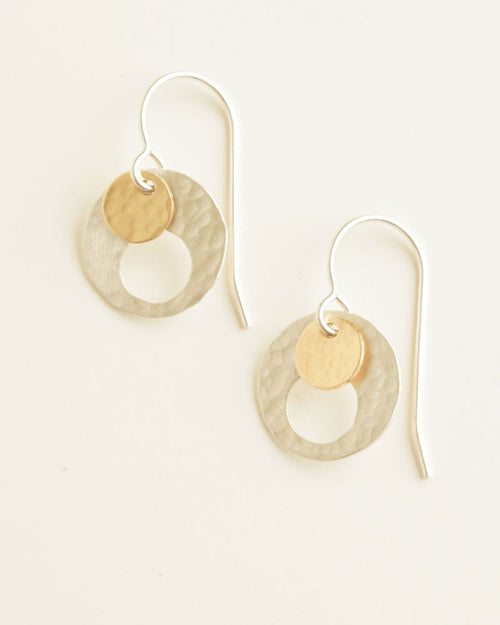 Eye Silver Earrings