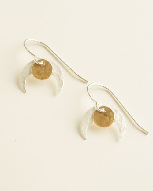 Claw Silver Earrings