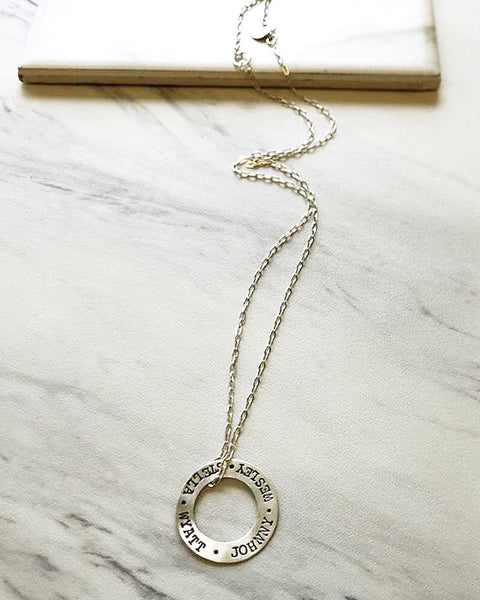 Olivia Silver Necklace