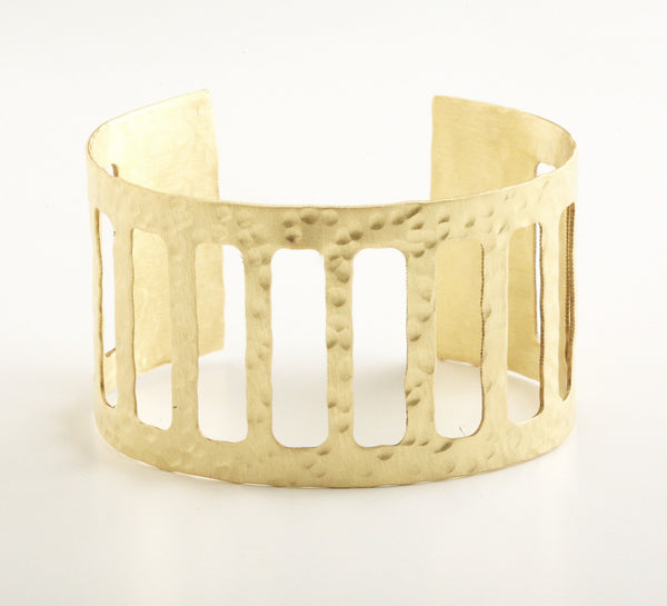 Caged Gold Cuff