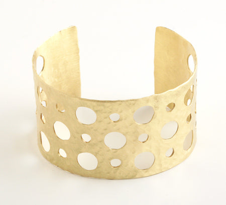 Open Dots Antique Cuff
