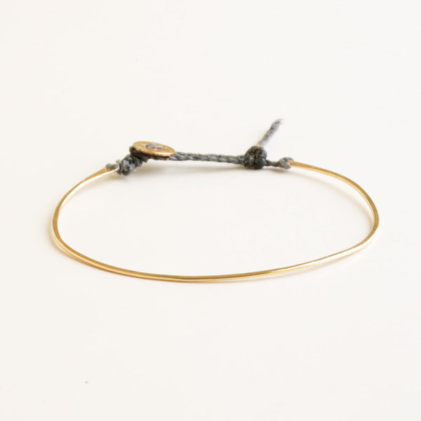 Elate Gold & Grey Bracelet
