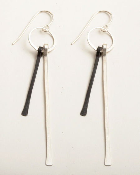 Angelah Silver Earrings