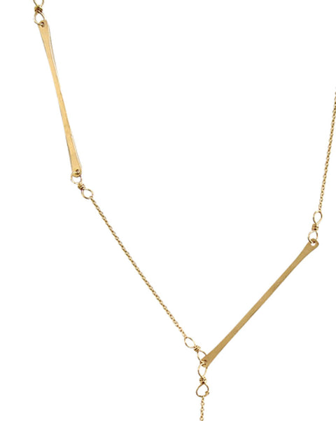 Bone Collector Gold Necklace