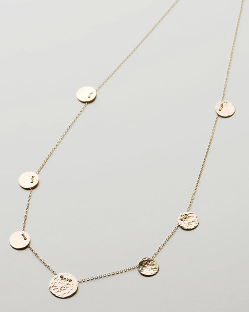 Poppy Gold Necklace