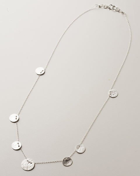 Poppy Silver Necklace