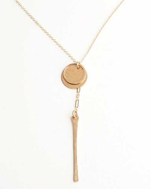 Ticker Gold Necklace