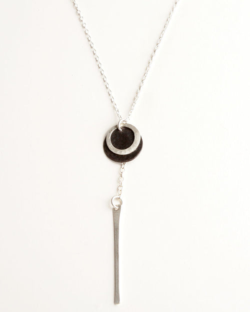 Ticker Silver Necklace