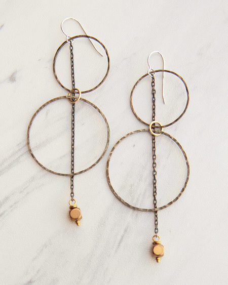 Solstice Antique Earrings