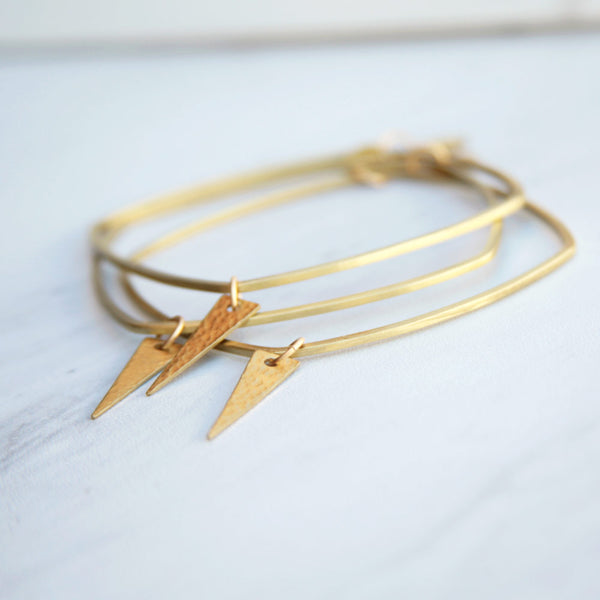 Fern Gold Bangle
