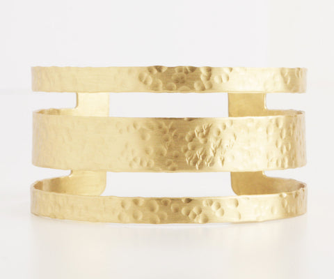 Atlantic Shore Gold Cuff